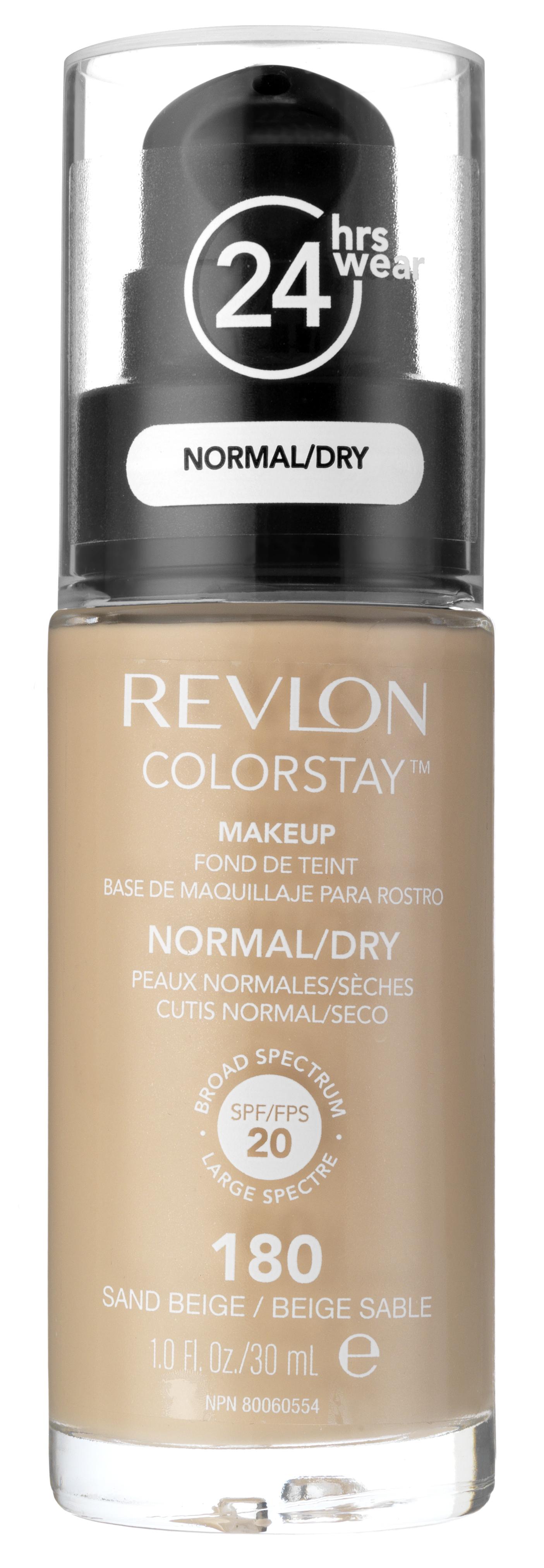 REVLON Крем тональный для комбинированной и жирной кожи 180 / Colorstay Makeup For Combination-Oily Skin Sand beige 30 мл - Тональные основы
