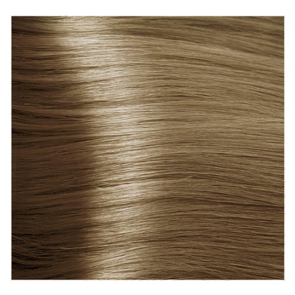 Купить KAPOUS NA 9.32 краска для волос, очень светлый золотисто-коричневый блонд / Magic Keratin 100 мл