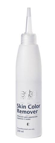ESTEL PROFESSIONAL Лосьон для удаления краски с кожи / Skin Color Remover 200млЛосьоны<br>Мягкое средство, позволяющее деликатно и эффективно удалить краску с кожи.&amp;nbsp;Достаточно небольшого количества для полного очищения.&amp;nbsp;Применяется после процесса окрашивания.&amp;nbsp;Имеет нейтральный pH.&amp;nbsp;Не содержит аммиак. Способ применения:&amp;nbsp;нанести лосьон на необходимые участки кожи с помощью салфетки или ватного шарика, тщательно протереть. После применения удалить остатки лосьона с кожи влажной салфеткой.<br><br>Цвет: Корректоры и другие<br>Объем: 200мл
