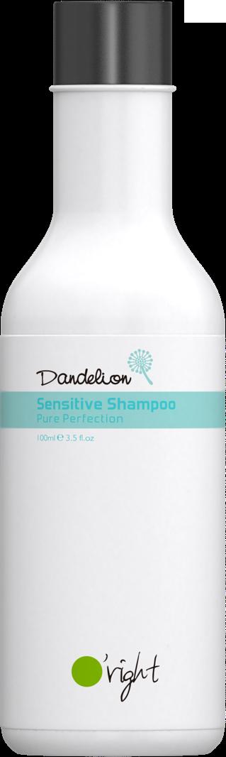 O'RIGHT Шампунь детский для волос Одуванчик / Dandelion Sensitive Shampoo 100 мл -  Шампуни