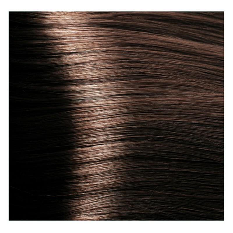 KAPOUS 5.23 крем-краска для волос / Hyaluronic acid 100млКраски<br>Светлый коричневый перламутровый Новая революционная формула красителя включает в состав низкомолекулярную гиалуроновую кислоту и инновационный ухаживающий комплекс, которые обеспечивают максимальное увлажнение, сохранение и восстановление структуры волос при окрашивании. Гиалуроновая кислота выполняет функцию межклеточного «цемента» заполняя клеточный матрикс волос. Обладает способностью притягивать огромное количество молекул воды, тем самым максимально увлажняя волосы в процессе окрашивания, так же она является отличным проводником для микропигментов красителя. Креатин – это аминокислота, которая является строительным материалам для поврежденных участков кортекса и кутикулы волос. Укрепляет, восстанавливает и защищает волосы в процессе окрашивания. Пантенол – провитамин В5, помогает восстановить поврежденные участки волосы после окрашивания заполняя все участки, делая его гладким. Обволакивает каждый волос пленкой, которая добавляет до 10%-20% объема (диаметра волос). После многочисленных исследований специалистами лаборатории был создан уникальный по своему действию комплекс: HAPS (Hyaluronic Acid Pigments System), который был взят за основу нового красителя. Состав: AQUA (WATER), CETEARYL ALCOHOL, PROPYLENE GLYCOL, OLEYL ALCOHOL, OLEIC ACID, CETEARETH-30, CETEARETH-3, ETHANOLAMINE, SORBITOL, CETEARETH-20, AMMONIA, SODIUM LAURYL SULFATE, GLYCERYL STEARATE, POLYQUATERNIUM-22, BEHENTRIMONIUM CHLORIDE, HYDROXYPROPYL GUAR HYDROXYPROPYLTRIMONIUM CHLORIDE, TETRASODIUM EDTA, ASCORBIC ACID, SODIUM METABISULFITE, CREATINE, PALMITOYL MYRISTYL SERINATE, GLYCERIN, PEG-8/SMDI COPOLYMER, PEG-8, SODIUM POLYACRYLATE, PANTHENOL, LECITHIN, HYDROLYZED SILK, SODIUM HYALURONATE, CYSTINE BIS-PG-PROPYL SILANETRIOL, PARFUM (FRAGRANCE) METHYLCHLOROISOTHIAZOLINONE, METHYLISOTHIAZOLINONE, MAGNESIUM CHLORIDE, MAGNESIUM NITRATE, CITRONELLOL, GERANIOL +/- P-PHENYLENEDIAMINE, 1,5-NAPHTHALENEDIOL, 1-HYDROXYETHYL 4,5-DIAMINO PYR