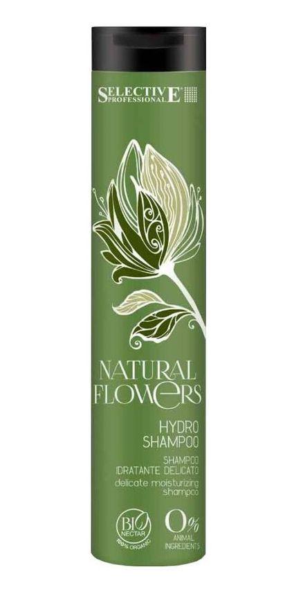 SELECTIVE PROFESSIONAL Шампунь-аква для частого применения / Hydro Shampoo Natural Flowers 250мл selective professional power shampoo серебряный шампунь для седых волос 250 мл