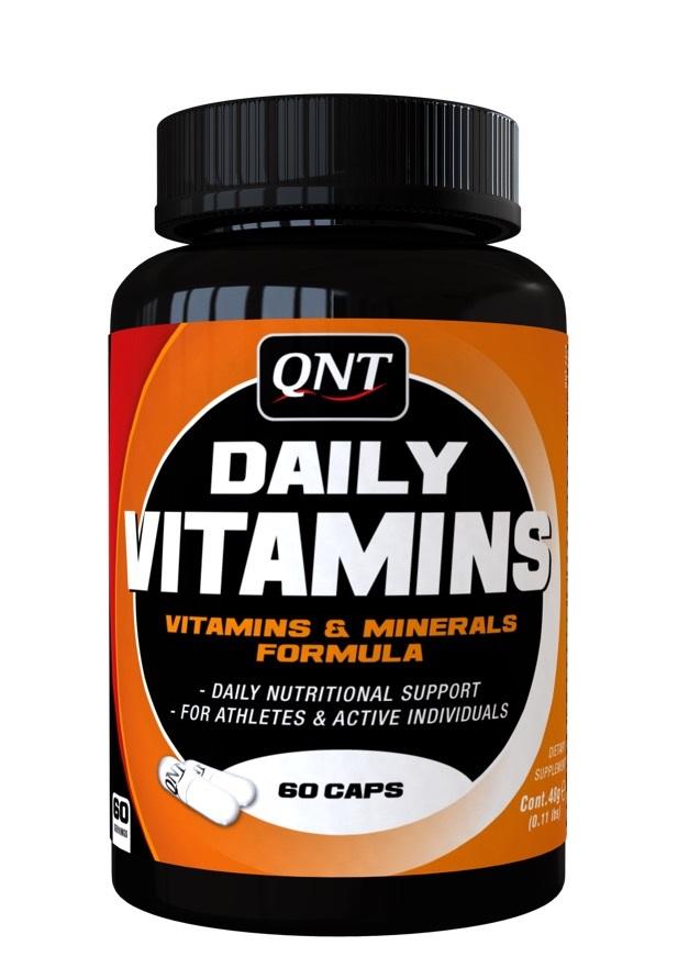 QNT Добавка биологически активная к пище Кью эн ти дэйли витаминс / Daily Vitamins 60 капсул