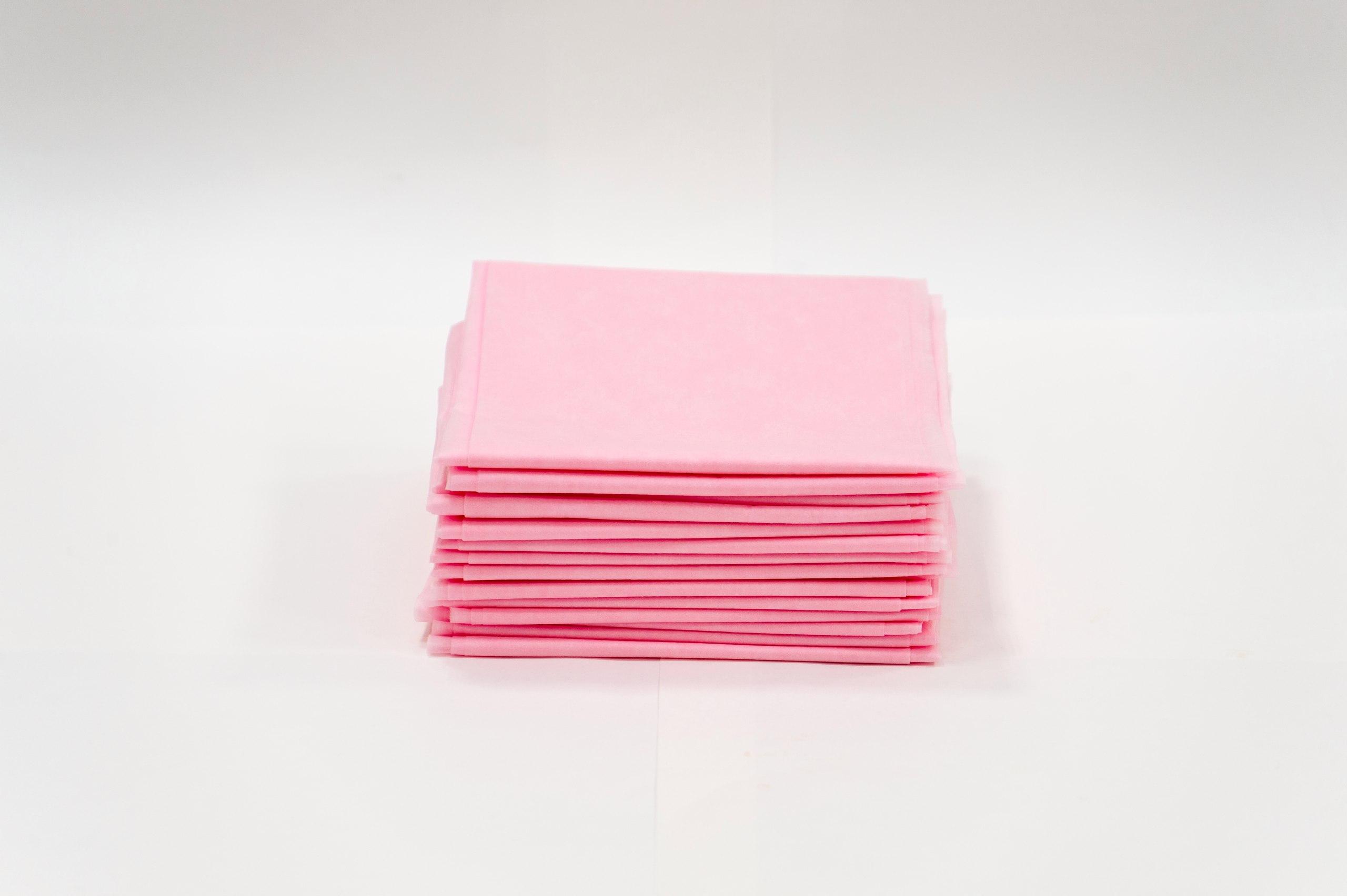 ЧИСТОВЬЕ Простыня SMS 200 х 80 см розовый Стандарт 20 шт/уп