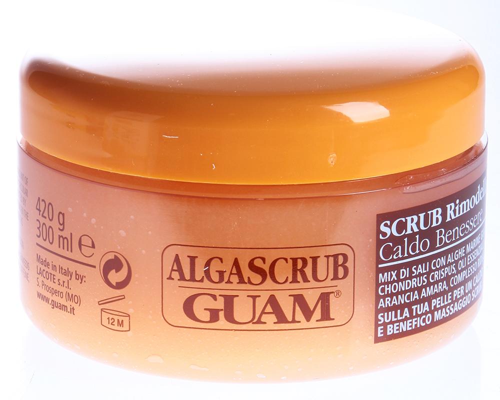 GUAM Скраб моделирующий для тела / ALGASCRUB 300мл ~