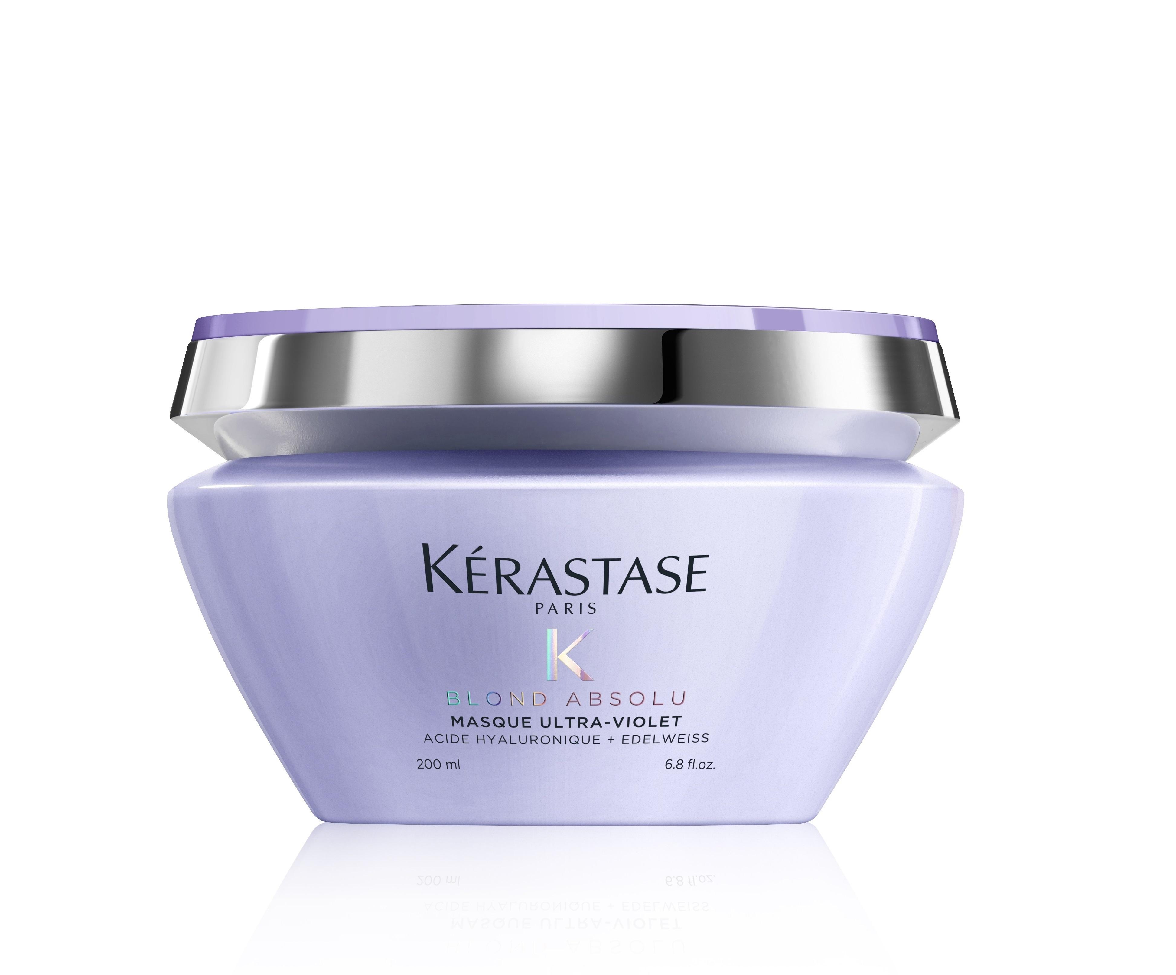Купить KERASTASE Маска питательная с фиолетовым пигментом Ультра-Виолет / БЛОНД АБСОЛЮ 200 мл