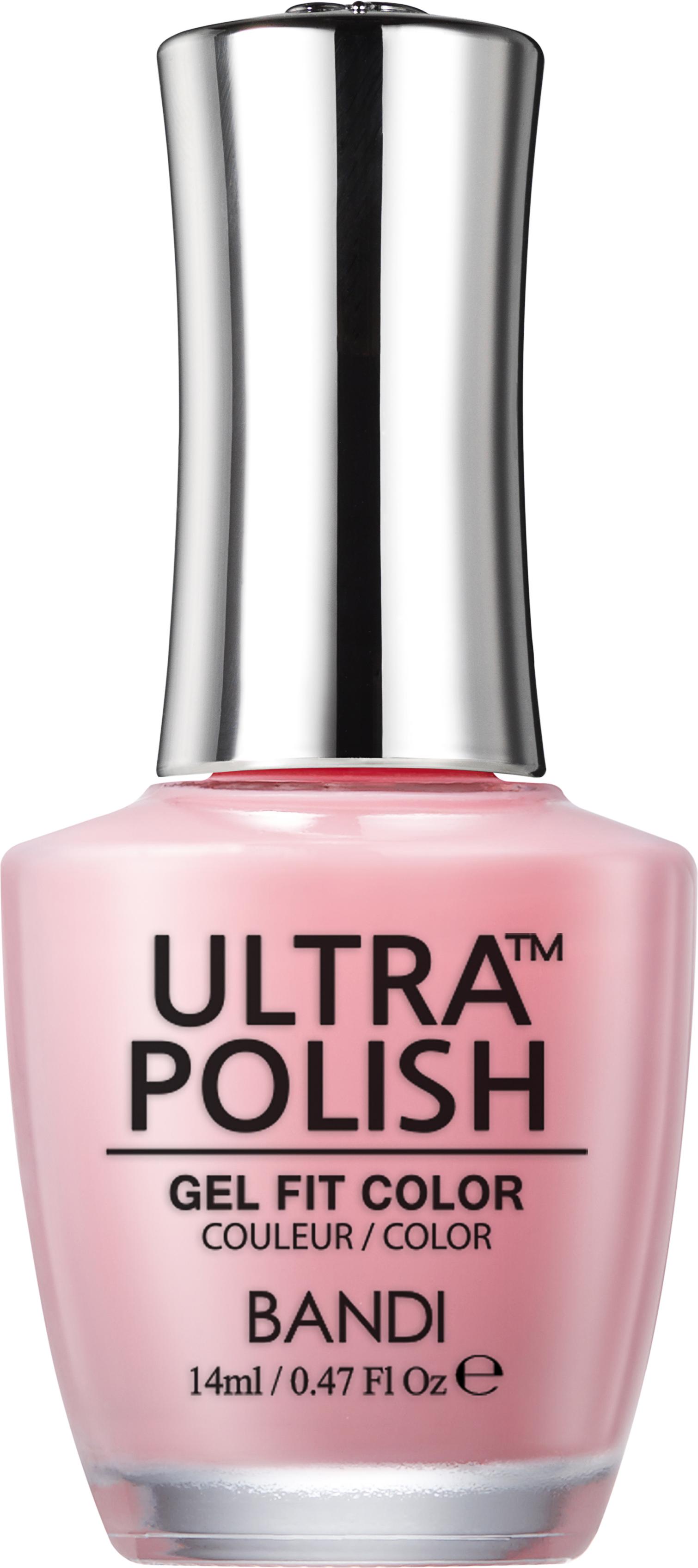 Купить BANDI UP107 ультра-покрытие долговременное цветное для ногтей / ULTRA POLISH GEL FIT COLOR 14 мл, Розовые