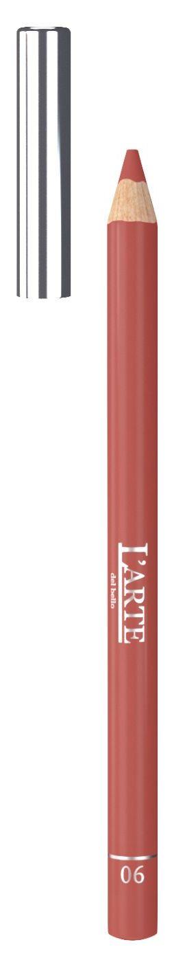 Купить LARTE DEL BELLO Карандаш для губ, тон 06 / PROFESSIONALE 1, 12 г