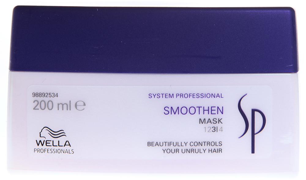 WELLA ����� ��� ��������� �������� �/��� ����������� ����� / SP Smoothen mask 200��
