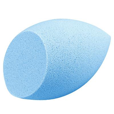 IRISK PROFESSIONAL Спонж для макияжа, каплевидный скошенный, 03 голубой