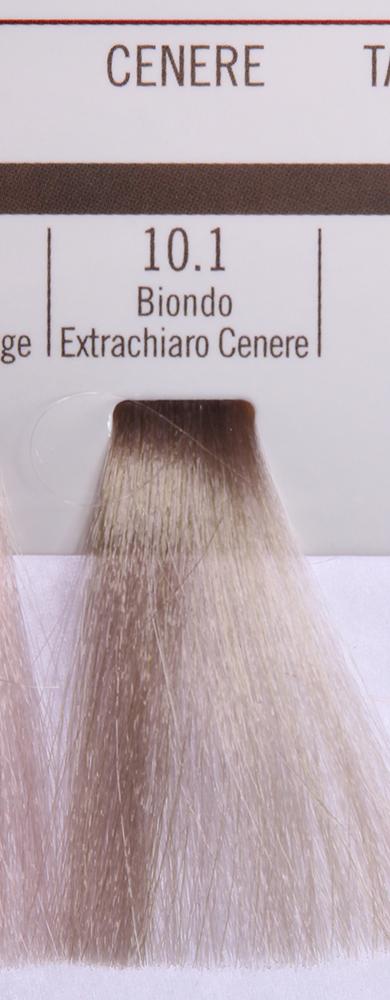 BAREX 10.1 краска для волос / PERMESSE 100млКраски<br>Оттенок: Экстра светлый блондин пепельный. Профессиональная крем-краска Permesse отличается низким содержанием аммиака - от 1 до 1,5%. Обеспечивает блестящий и натуральный косметический цвет, 100% покрытие седых волос, идеальное осветление, стойкость и насыщенность цвета до следующего окрашивания. Комплекс сертифицированных органических пептидов M4, входящих в состав, действует с момента нанесения, увлажняя волосы, придавая им прочность и защиту. Пептиды избирательно оседают в самых поврежденных участках волоса, восстанавливая и защищая их. Масло карите оказывает смягчающее и успокаивающее действие. Комплекс пептидов и масло карите стимулируют проникновение пигментов вглубь структуры волоса, придавая им здоровый вид, блеск и долговечность косметическому цвету. Активные ингредиенты:&amp;nbsp;Сертифицированные органические пептиды М4 - пептиды овса, бразильского ореха, сои и пшеницы, объединенные в полифункциональный комплекс, придающий прочность окрашенным волосам, увлажняющий и защищающий их. Сертифицированное органическое масло карите (масло ши) - богато жирными кислотами, экстрагируется из ореха африканского дерева карите. Оказывает смягчающий и целебный эффект на кожу и волосы, широко применяется в косметической индустрии. Масло карите защищает волосы от неблагоприятного воздействия внешней среды, интенсивно увлажняет кожу и волосы, т.к. обладает высокой степенью абсорбции, не забивает поры. Способ применения:&amp;nbsp;Крем-краска готовится в смеси с Молочком-оксигентом Permesse 10/20/30/40 объемов в соотношении 1:1 (например, 50 мл крем-краски + 50 мл молочка-оксигента). Молочко-оксигент работает в сочетании с крем-краской и гарантирует идеальное проявление краски. Тюбик крем-краски Permesse содержит 100 мл продукта, количество, достаточное для 2 полных нанесений. Всегда надевайте подходящие специальные перчатки перед подготовкой и нанесением краски. Подготавливайте смесь крем-краски и молочка-оксигента Perme