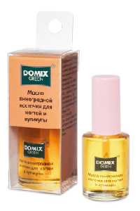 DOMIX GREEN PROFESSIONAL Масло виноградной косточки для ногтей и кутикулы / DG 11 мл
