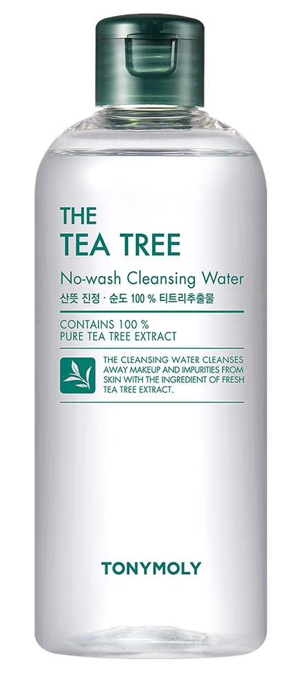 TONY MOLY Вода очищающая / The Tea Tree No Wash Cleansing Water 300 мл - Термальная вода
