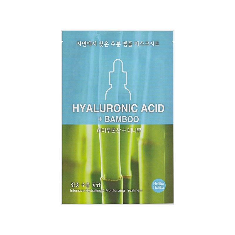 HOLIKA HOLIKA Маска тканевая увлажняющая Ампул Эссенс, гиалуроновая кислота / Ampoule Essence Mask Sheet Hyaluronic acid 18мл