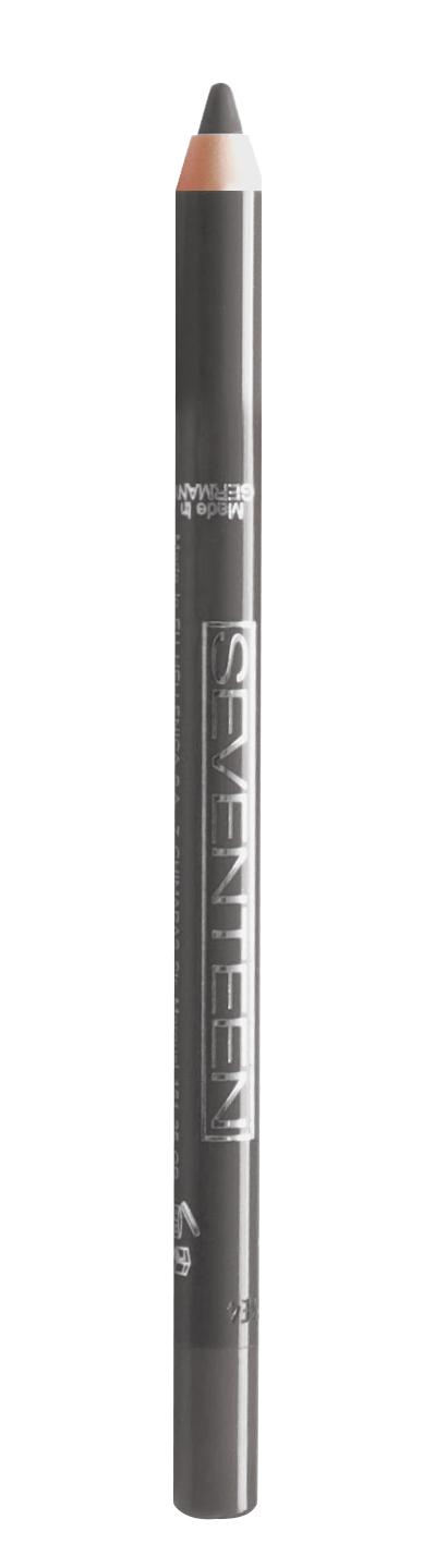 SEVENTEEN Карандаш водостойкий с витамином Е для век, 11 стальной / Super Smooth W/P & Longstay 1,2 г
