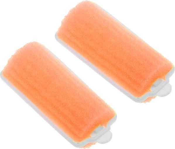 DEWAL BEAUTY Бигуди поролоновые оранжевые, d 25x70 мм 10 шт цена