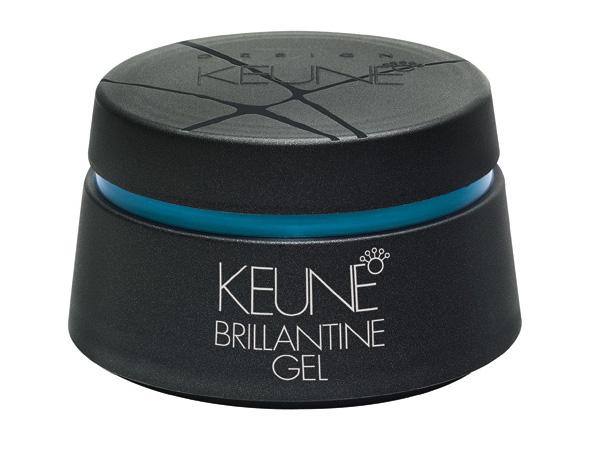KEUNE Гель-бриллиантин / BRILLIANTINE GEL 30млГели<br>Гель бриллиантин подходит для выделения структуры волос, укладки, придания блеска, а также придания волосам эффекта мокрых волос. Подходит как для длинных, так и для коротких волос и создания модных причесок. Позволяет придать гибкую фиксацию вьющимся волосам. Гель бриллиантин &amp;ndash; один из самых популярных продуктов KEUNE. Применение: Пальцами нанесите небольшое количество Геля на сухие волосы. Распределите Гель на волосах, в соответствии с выбранной прической.<br><br>Объем: 30