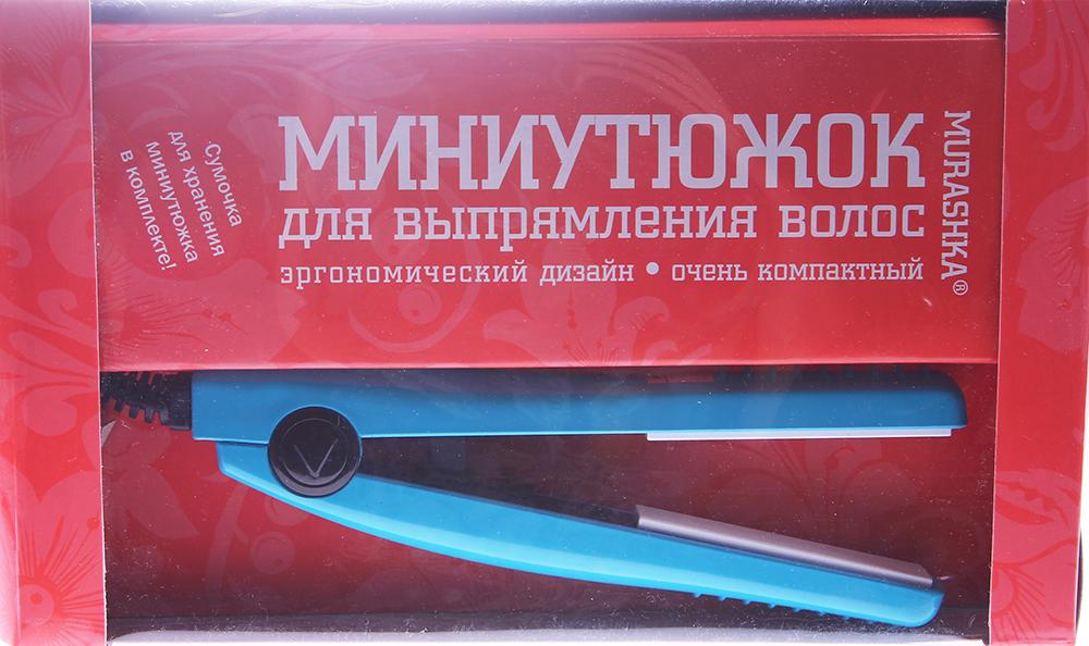 SIM SENSITIVE Миниутюжок Мурашка голубойЩипцы-выпрямители<br>Специально разработанный для путешествий миниутюжок станет хорошим попутчиком для всех любительниц красивых причесок. Супертонкие керамические пластины Миниутюжка имеют современное турмалиновое покрытие, способствующее выработке ионов или как их иначе называют &amp;laquo;витаминов воздуха&amp;raquo;. Турмалиновые керамические пластины обеспечивают равномерное выпрямление волос, делая их гладкими и предотвращая спутывание волос, придают волосам здоровый блеск. Миниутюжок подходит для всех типов волос и предназначен для их выпрямления. Максимальная температура нагрева 200 градусов. Миниутюжок имеет удобный 2-х метровый провод. Размер щипцов всего 15 см, они легко помещаются в сумочку любого формата. Способ применения: Каждый раз перед применением Миниутюжка рекомендуем использовать термоспрей для защиты структуры волос. Распылите термоспрей на сухие или влажные волосы непосредственно перед укладкой. Если необходимо, подсушите волосы феном (не до полного высыхания). Возьмите миниутюжок и разглаживайте волосы слой за слоем. Закрепив основную массу волос на макушке, отделяйте небольшие прядки и выпрямляйте волосы начиная с затылка. Если ваши волосы вьются, проведите по ним вначале плоской щеткой, а затем утюжком, при этом прядки должны быть совсем небольшие, в противном случае тепло не проникнет в волосы и они не выпрямятся.<br>