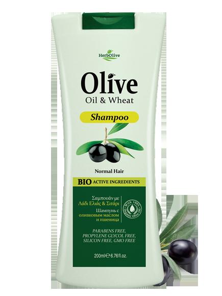 MADIS Шампунь для нормальных волос с пшеницей / HerbOlive 200 мл