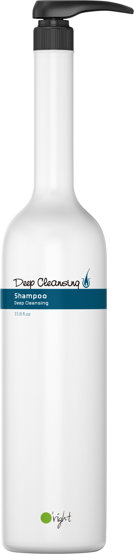 O'RIGHT Шампунь глубоко очищающий для волос / Deep Cleansing Shampoo 1000 мл schwarzkopf шампунь для глубоко очищения deep cleansing shampoo 250 мл