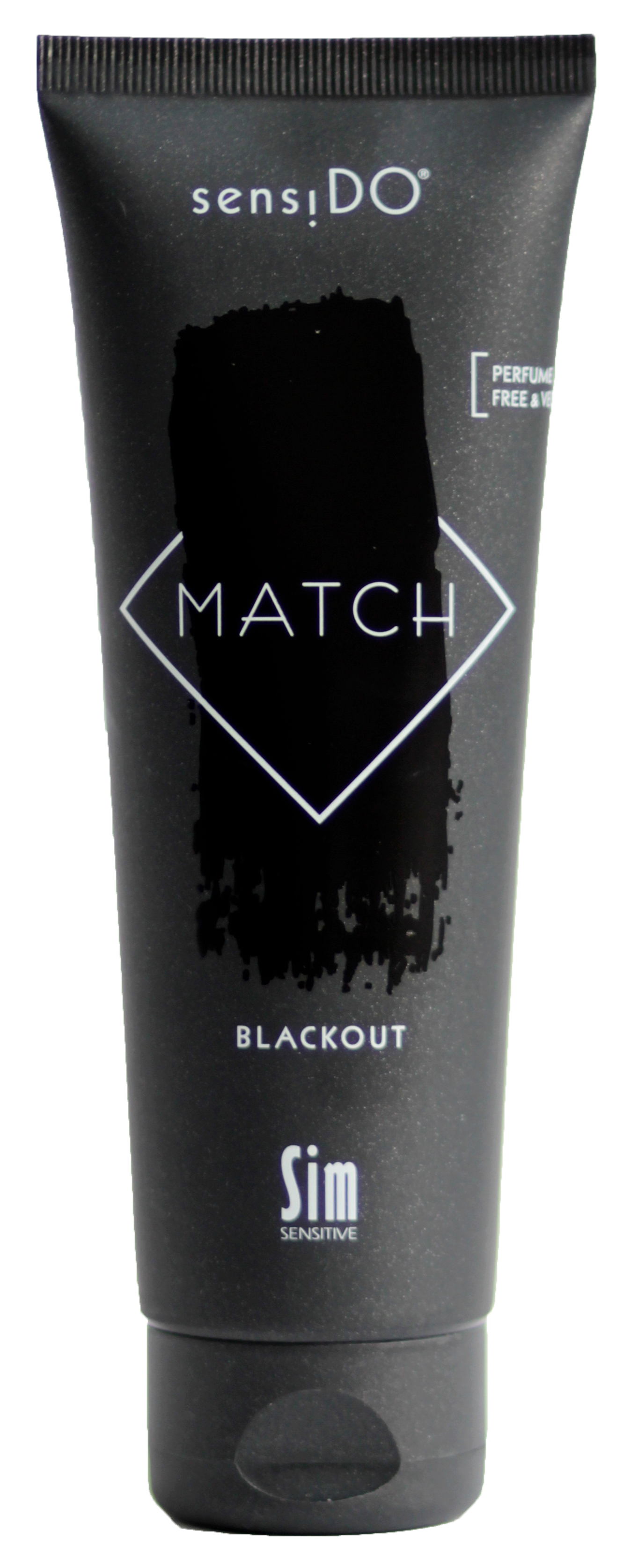 SIM SENSITIVE Краситель прямого действия, черный / SensiDO Match Blackout 125 мл