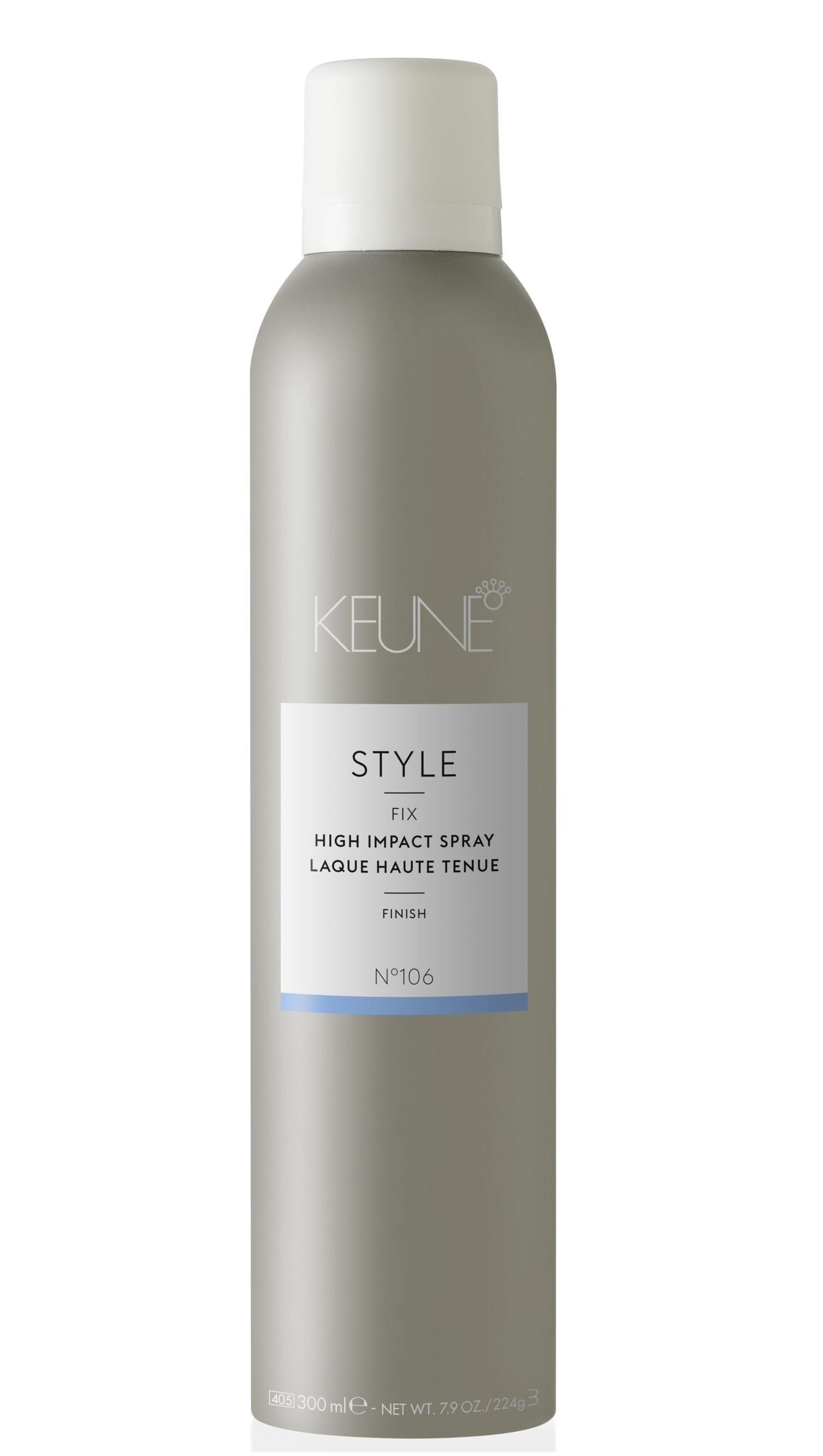Купить KEUNE Лак для волос сильной фиксации / STYLE HIGH IMPACT SPRAY 300 мл