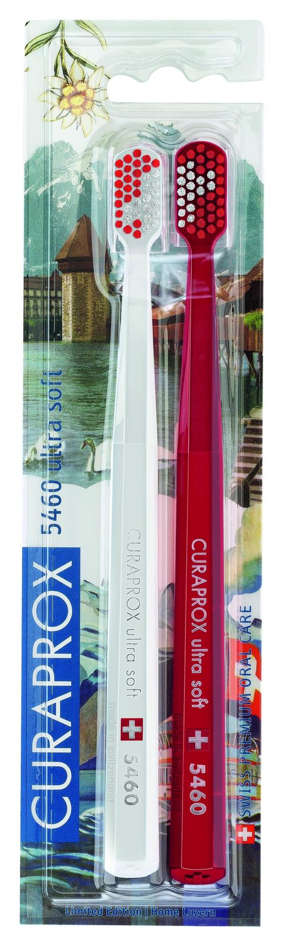 Купить CURAPROX Набор зубных щеток ultrasoft, d 0.10 мм / Duo Swiss 2 шт