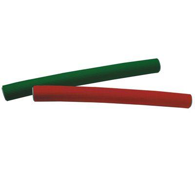 ERIKA Папильотки рифленые 15*150мм 10шт-Папильотки<br>Рифленые папильотки позволяют создавать на локонах небольшие волны, лучше фиксируются на волосах. 10шт/уп<br>