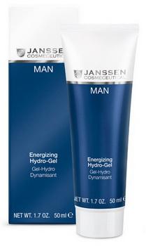 JANSSEN Гель энергонасыщающий увлажняющий / Energizing Hydro-Gel MAN 50мл -  Гели