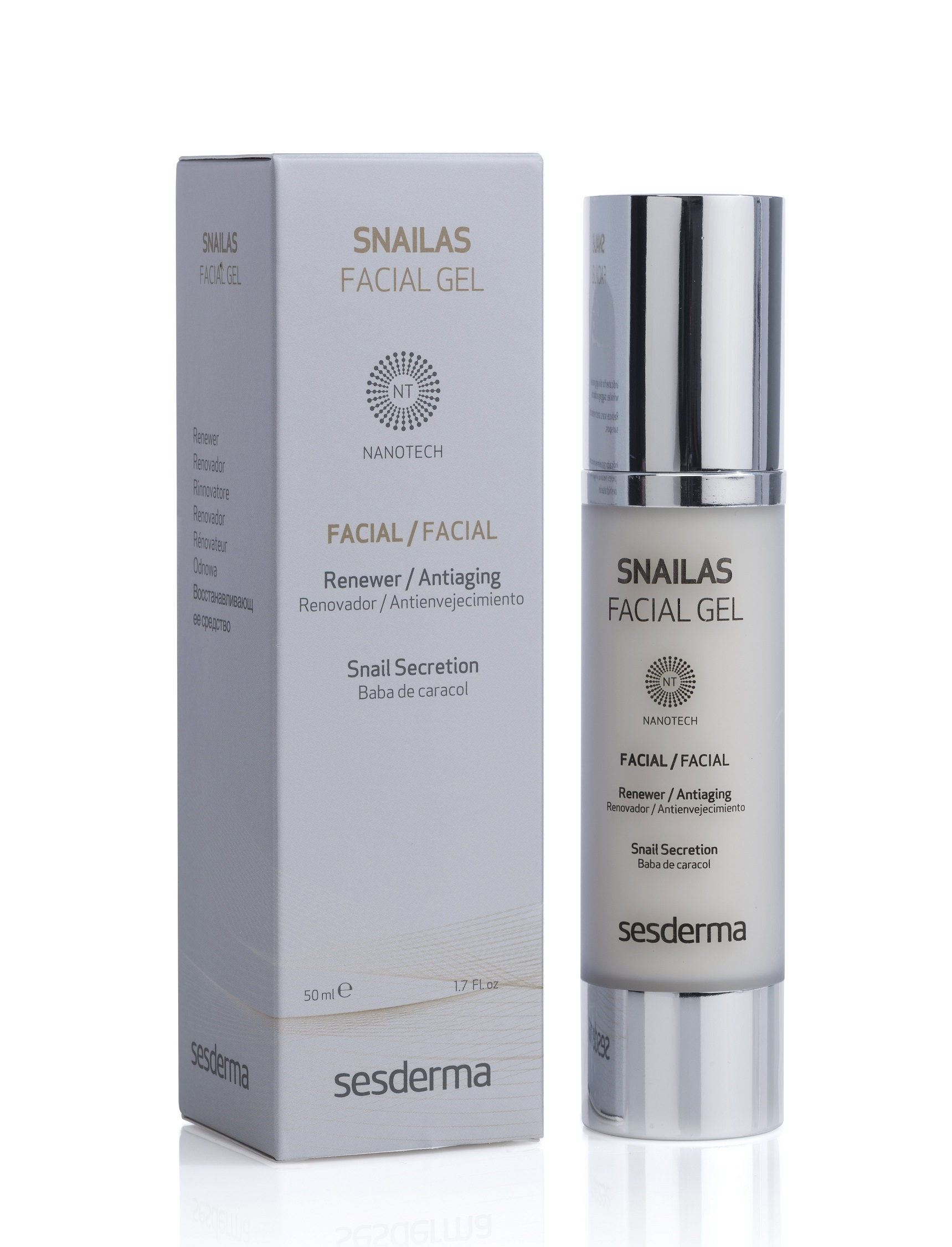 Купить SESDERMA Гель восстанавливающий для лица / SNAILAS Facial gel renewer 50 мл