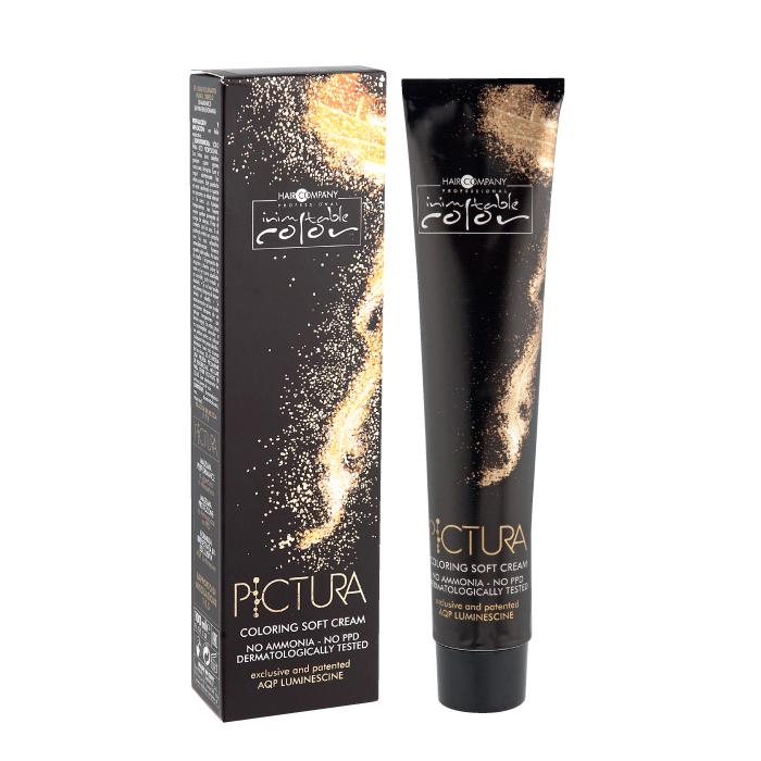 HAIR COMPANY 7.64 крем-краска мягкая, русый тициановый интенсивный / INIMITABLE COLOR PICTURA Coloring Soft Cream 100 мл
