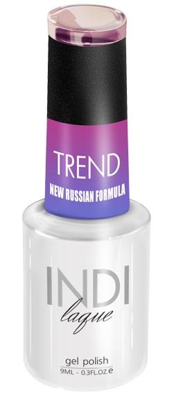 Купить RuNail 5011 гель-лак для ногтей / INDI laque Trend 9 мл, Розовые