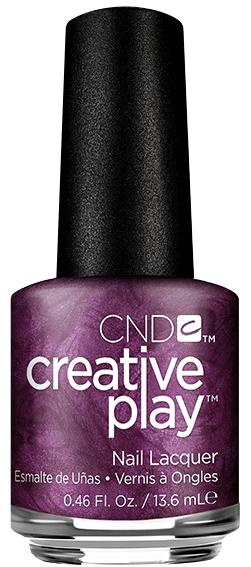 Купить CND 487 лак для ногтей / Rsvplum Creative Play 13, 6 мл, Фиолетовые