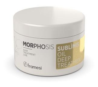 Купить FRAMESI Маска интенсивного действия на основе арганового масла для волос / MORPHOSIS SUBLIMIS OIL DEEP TREATMENT 200 мл