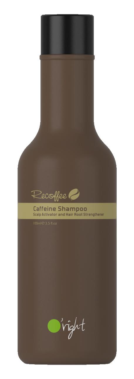 O'RIGHT Шампунь укрепляющий для волос Кофеин / Caffeine Shampoo 100 мл -  Шампуни