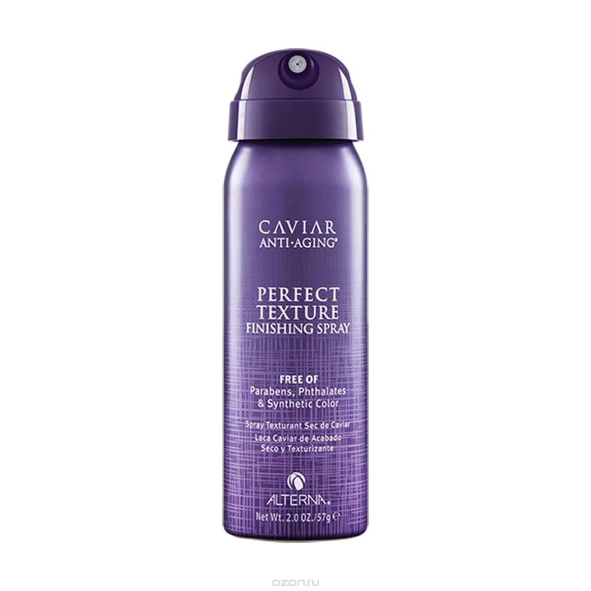 "ALTERNA Спрей Идеальная текстура волос / Anti-aging Perfect Texture Finishing Spray Travel CAVIAR 50 мл alterna спрей ""абсолютная термозащита"" caviar anti aging perfect iron spray 122ml"