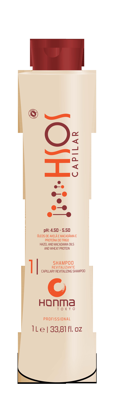 HONMA TOKYO Шампунь очищающий для поврежденных волос / H-SOS shampoo 1000 мл шампунь h