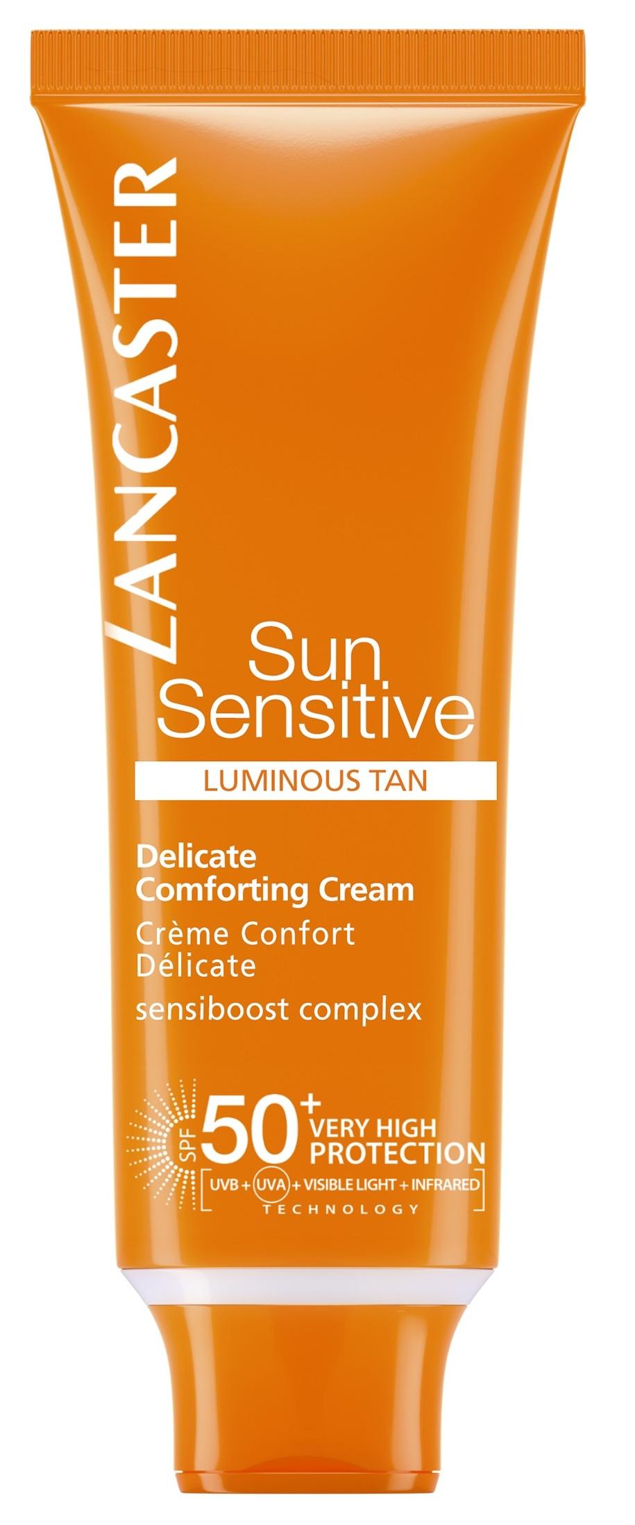 LANCASTER Лосьон нежный для чувствительной кожи лица SPF 50+ / Sun Sensitive 50 мл