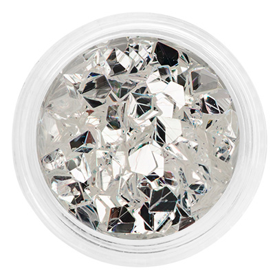 Декор оригами-алмазы, в баночке 10