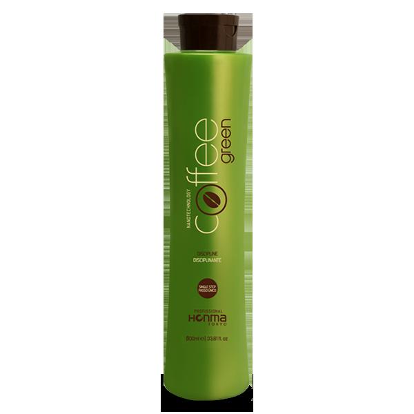 HONMA TOKYO Система био-протеиновая для выпрямления волос всех типов, одношаговое аминокислотное / Coffee Green 500 мл - Кератин