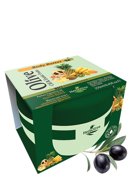 MADIS Масло для тела с экстрактом экзотических фруктов / HerbOlive 250мл оливковое масло для кожи