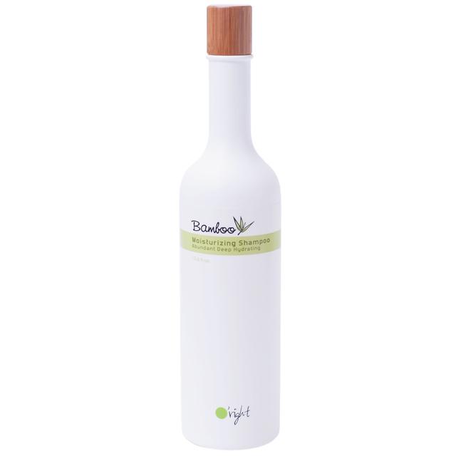 O'RIGHT Шампунь увлажняющий для сухих, поврежденных волос Бамбук / Bamboo Moisturizing Shampoo 400 мл -  Шампуни