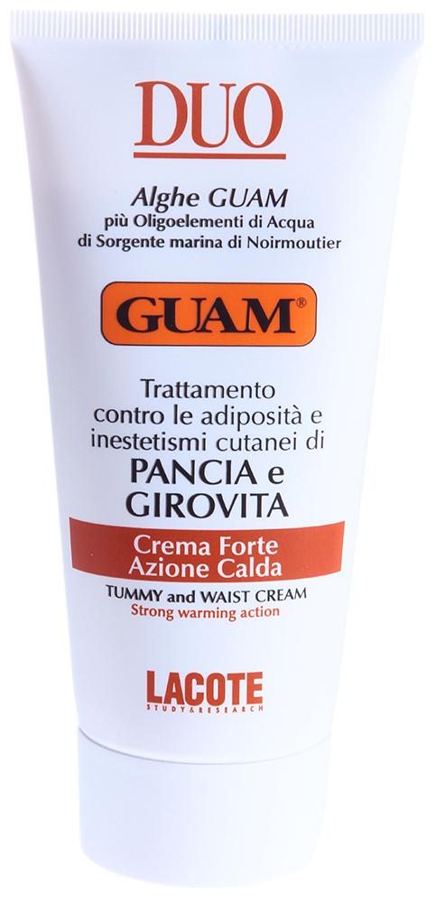 GUAM Крем с разогревающим эффектом для живота и талии / DUO 150мл