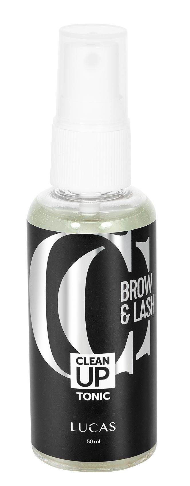 LUCAS' COSMETICS Обезжириватель для бровей и ресниц / CC Brow Clean Up Tonic 50 мл