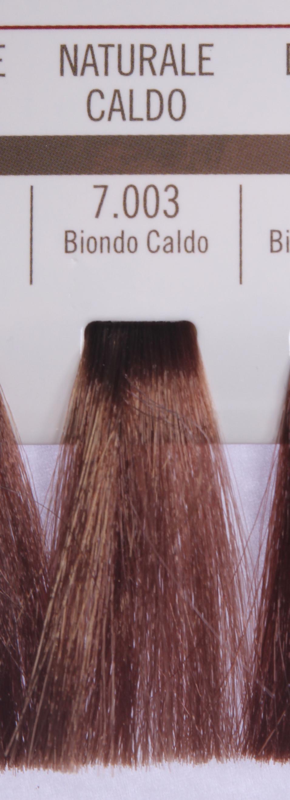 BAREX 7.003 краска для волос / PERMESSE 100млКраски<br>Оттенок: Блондин теплый. Профессиональная крем-краска Permesse отличается низким содержанием аммиака - от 1 до 1,5%. Обеспечивает блестящий и натуральный косметический цвет, 100% покрытие седых волос, идеальное осветление, стойкость и насыщенность цвета до следующего окрашивания. Комплекс сертифицированных органических пептидов M4, входящих в состав, действует с момента нанесения, увлажняя волосы, придавая им прочность и защиту. Пептиды избирательно оседают в самых поврежденных участках волоса, восстанавливая и защищая их. Масло карите оказывает смягчающее и успокаивающее действие. Комплекс пептидов и масло карите стимулируют проникновение пигментов вглубь структуры волоса, придавая им здоровый вид, блеск и долговечность косметическому цвету. Активные ингредиенты:&amp;nbsp;Сертифицированные органические пептиды М4 - пептиды овса, бразильского ореха, сои и пшеницы, объединенные в полифункциональный комплекс, придающий прочность окрашенным волосам, увлажняющий и защищающий их. Сертифицированное органическое масло карите (масло ши) - богато жирными кислотами, экстрагируется из ореха африканского дерева карите. Оказывает смягчающий и целебный эффект на кожу и волосы, широко применяется в косметической индустрии. Масло карите защищает волосы от неблагоприятного воздействия внешней среды, интенсивно увлажняет кожу и волосы, т.к. обладает высокой степенью абсорбции, не забивает поры. Способ применения:&amp;nbsp;Крем-краска готовится в смеси с Молочком-оксигентом Permesse 10/20/30/40 объемов в соотношении 1:1 (например, 50 мл крем-краски + 50 мл молочка-оксигента). Молочко-оксигент работает в сочетании с крем-краской и гарантирует идеальное проявление краски. Тюбик крем-краски Permesse содержит 100 мл продукта, количество, достаточное для 2 полных нанесений. Всегда надевайте подходящие специальные перчатки перед подготовкой и нанесением краски. Подготавливайте смесь крем-краски и молочка-оксигента Permesse в неметалличе