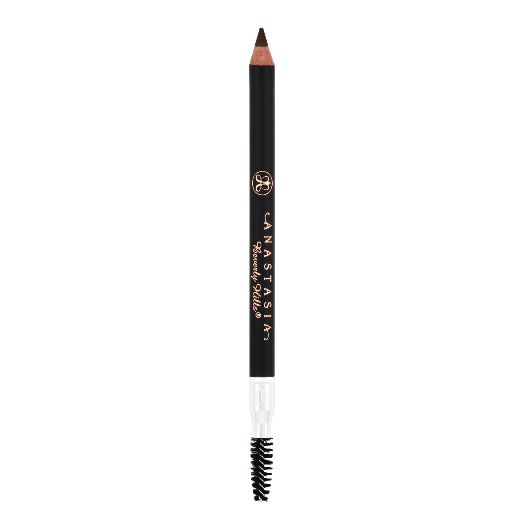 ANASTASIA BEVERLY HILLS Карандаш для бровей Brunette/Dark Brown / Perfect Brow PencilКарандаши<br>Анастасия создала этот карандаш специально для того, чтобы сделать ваши брови еще красивее. Он незаменим для всех, кто мечтает об идеальных бровях. Компактный и простой в применении карандаш, который практически не занимает места в вашей сумочке и всегда под рукой. Способ применения: нанесите на увлажненную или сухую кожу короткими штриховыми движениями, заполняя пространство между волосками. Вторую сторону карандаша использовать для добавления объема бровям, взбивая волоски вверх короткими ударами.<br>