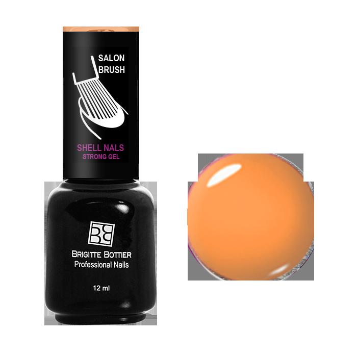 BRIGITTE BOTTIER 992 гель-лак для ногтей, бледно-желтый / Shell Nails 12 мл