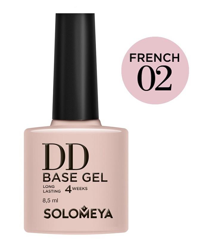 SOLOMEYA База-DD суперэластичная на основе нано-каучукового материала / French 02 DD BASE GEL Daily Defense 8,5 мл