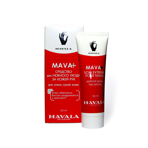 MAVALA Крем для сухой кожи рук / Mava+ Extreme Care for Hands 50мл -  Кремы