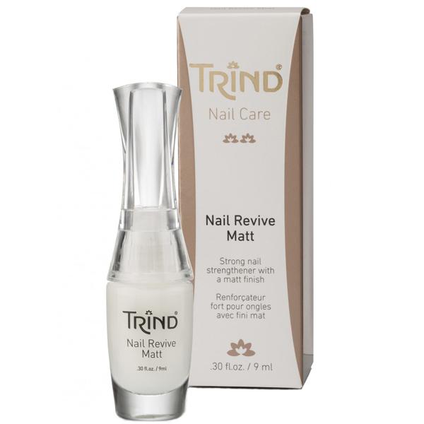 TRIND Укрепитель для ногтей матовый, без формальдегида / Nail Revive Matt 9 мл от Галерея Косметики